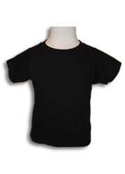 Infant Short Sleeve Tee BLACK