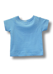 Infant Short Sleeve Tee SKY BLUE