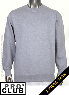 3bc3e683e29 Pro Club Mens Crew Neck Fleece Sweatshirts - Pro Club