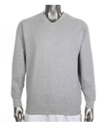Men's V-Neck Fleece Sweatshirts