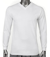 Men&#39s Comfort Long Sleeve V-Neck