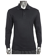 Polo Pique Long Sleeves