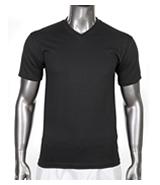 Men's V-Neck Heavyweight Short Sleeve Tees